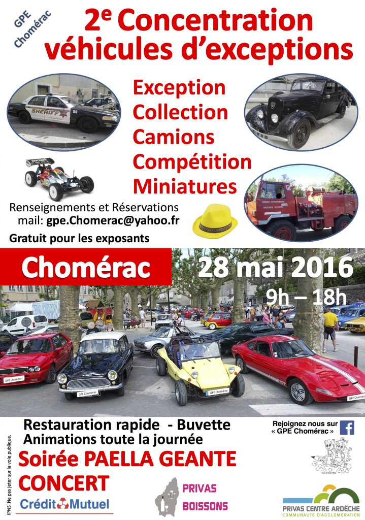 Affiche concentration voiture - Inscriptions 2016_Rev 3 -Flyers