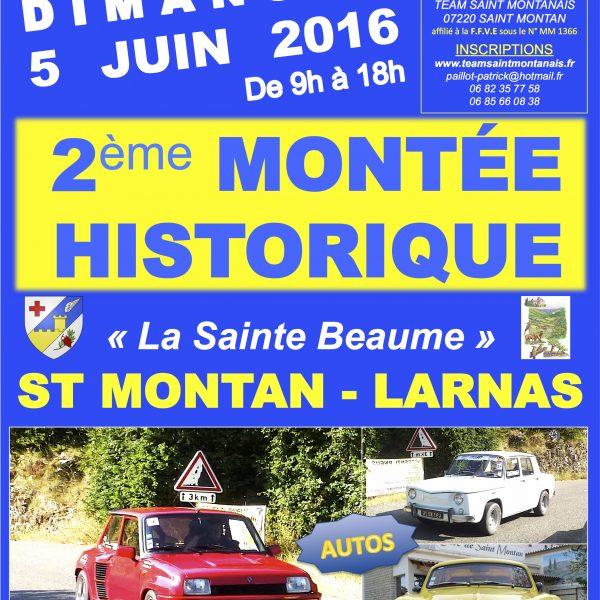 MONTÉE HISTORIQUE 5 JUIN 2016