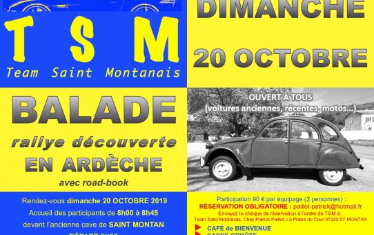 Balade Rallye Découverte