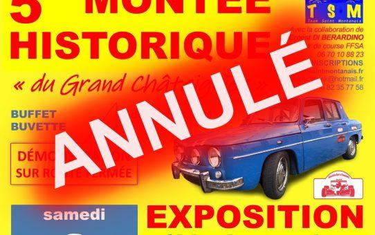 Montée Historique du Grand Châtaignier