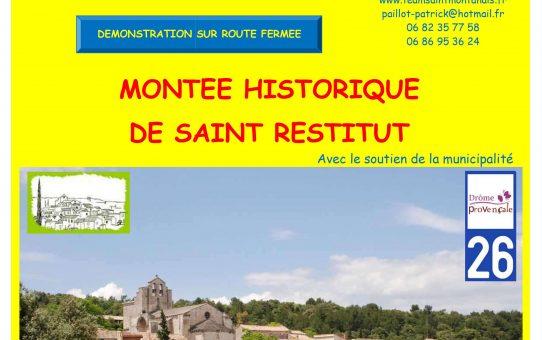 MONTEE HISTORIQUE DE SAINT RESTITUT 2021